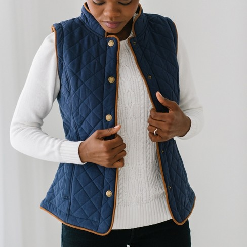 Hope & Henry Women's Quilted Riding Vest, Womens - image 1 of 4