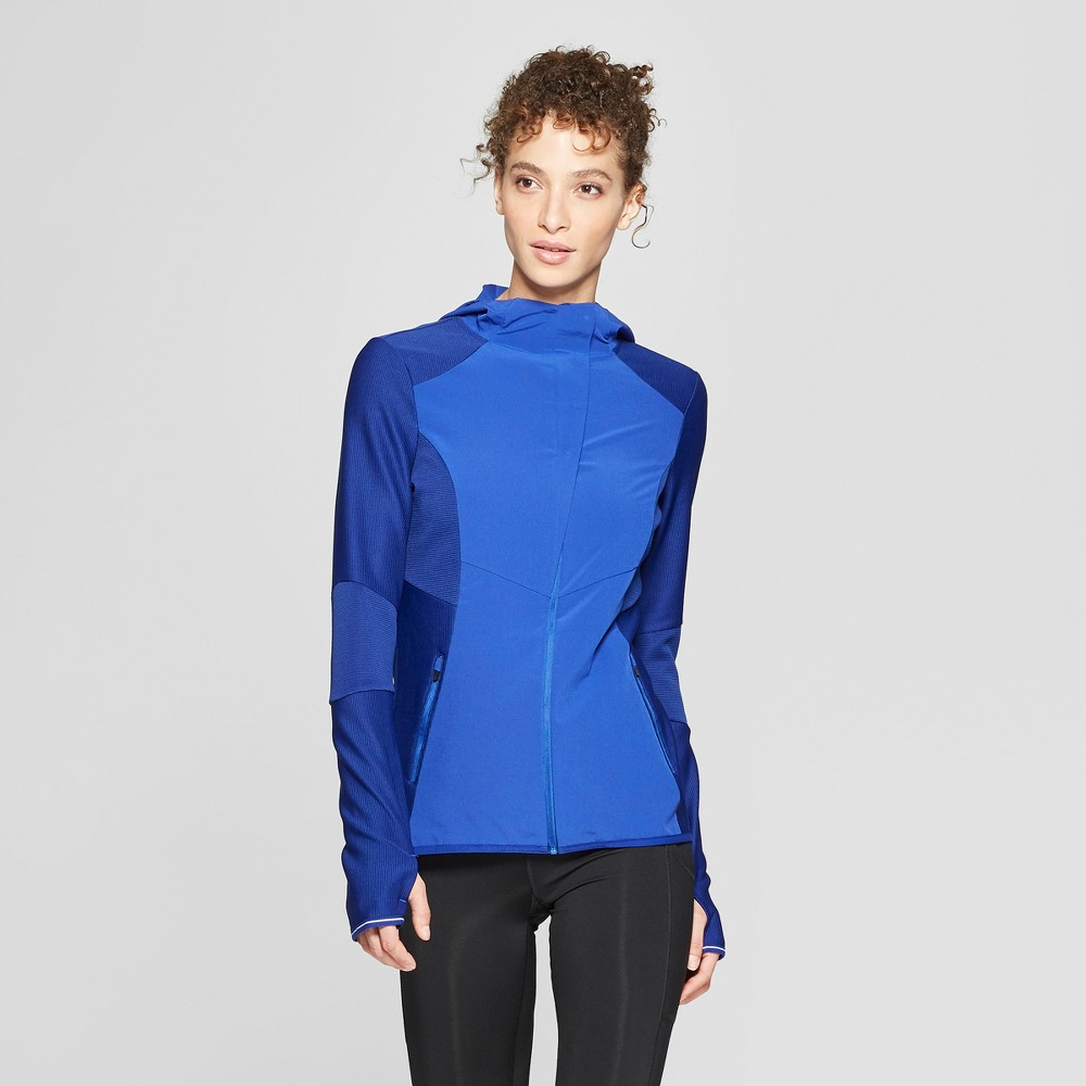 Women's Run Full Zip Track Jacket - C9 Champion Ultra Cobalt Blue S
