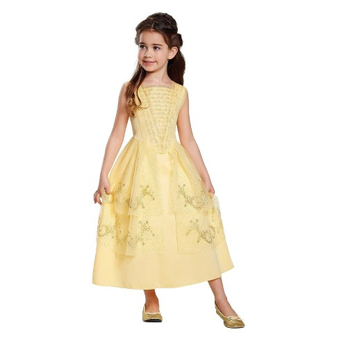 Girls' Belle Ball Gown Classic Costume Kit - image 1 of 1