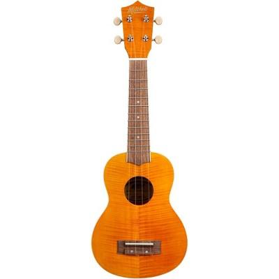 Mitchell MU45F Exotic Soprano Ukulele Flamed Maple