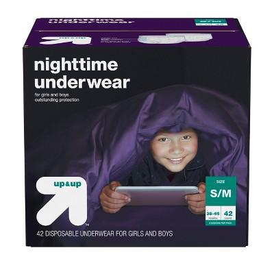 Nighttime Underwear Size S/M - 42ct - Up&Up™