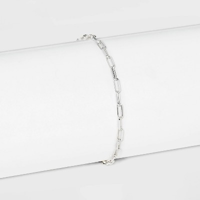 Sterling Silver Paperlink Chain Bracelet - A New Day™