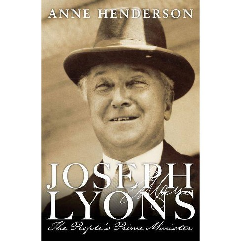 Joseph Lyons - by  Anne Henderson (Hardcover) - image 1 of 1