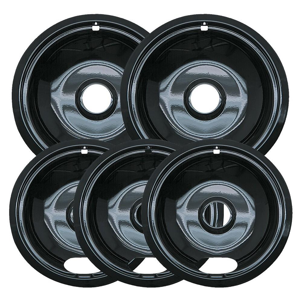 Image of Range Kleen 5pc Porcelian Drip Pans