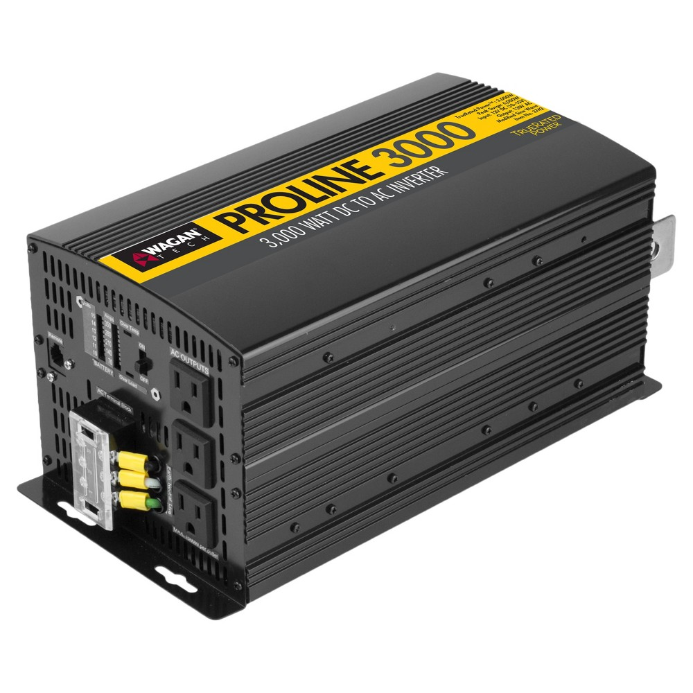 Wagan - 3000 Watt Proline Msw Power Inverter - Black