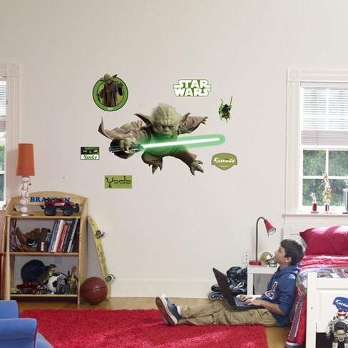 Star Wars Fathead Yoda Wall Dcor - image 1 of 1