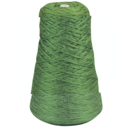Trait Tex Acrylic 4-Ply Jumbo-Weight Yarn Refill Cone, 85 yd Dispenser Box, Green, 8 oz Cone - image 1 of 1