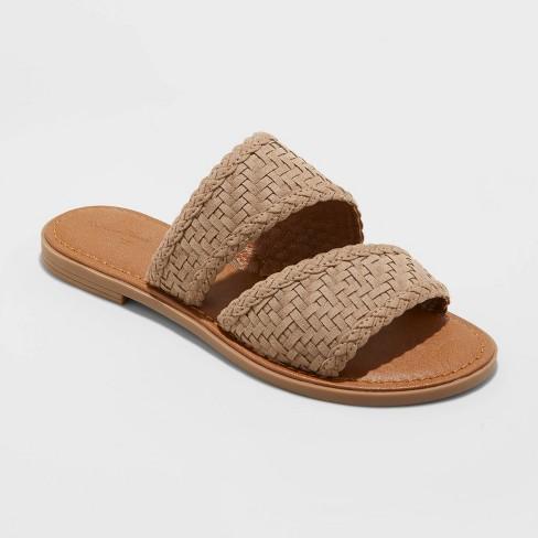 Women's Bryton Woven Slide Sandals - Universal Thread™ - image 1 of 3