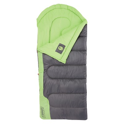 Coleman Raymer Adult 40 Degree Sleeping Bag - Green/Gray
