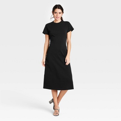 Women's Short Sleeve Shift Dress - Who What Wear™