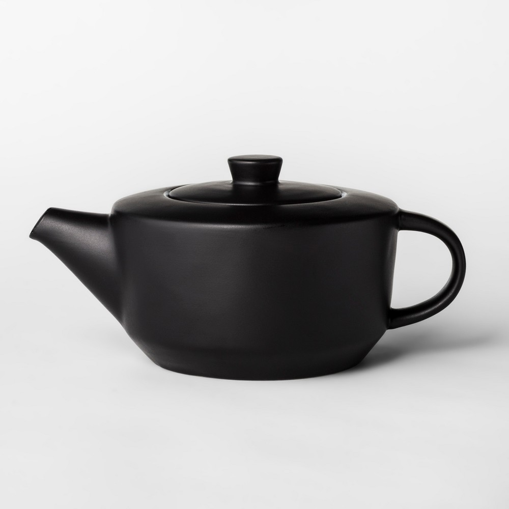 30oz Ceramic Teapot Black - Project 62