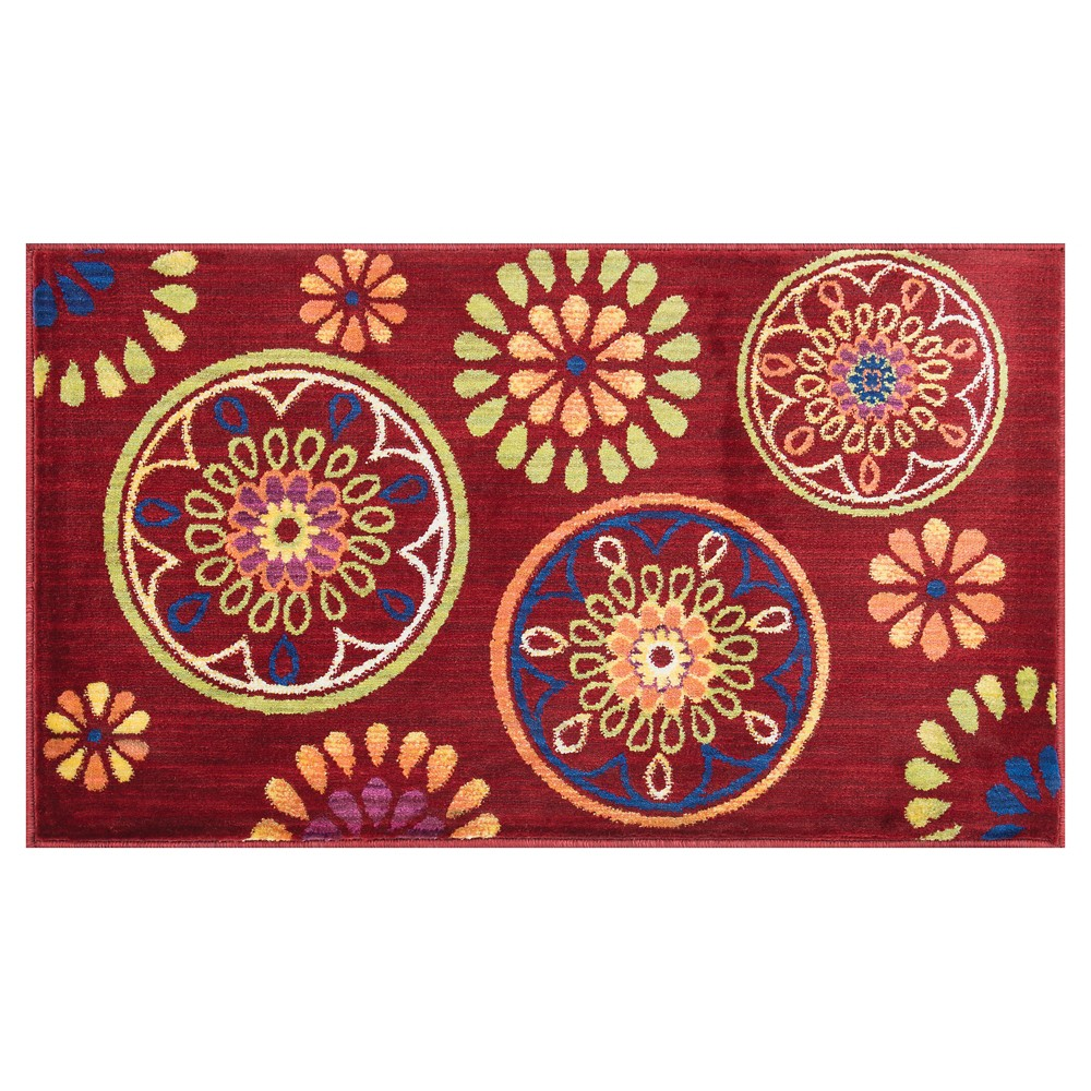 Loloi Isabelle Accent Rug - Red (2'2
