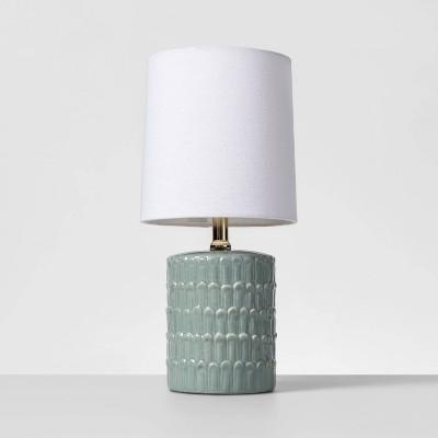 Ceramic Mini Table Lamp Mint (Lamp Only)- Opalhouse™