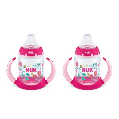NUK 2pk Learner Cup - Pink - 5oz