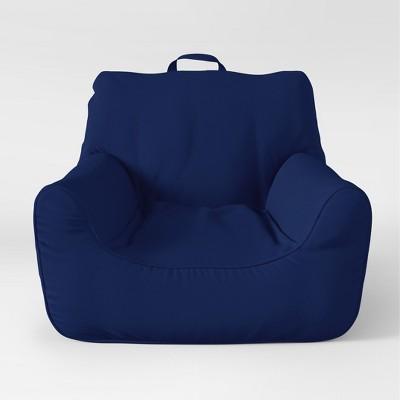 Bean Bag Seats - Blue Overalls - Pillowfort™