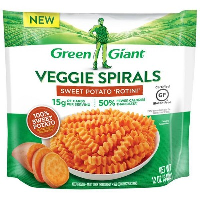 Green Giant Veggie Spirals Frozen Sweet Potato Rotini - 12oz