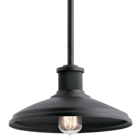 "Kichler 49982 Allenbury Convertible Single Light 12"" Wide Pendant / Semi-Flush Ceiling Fixture - image 1 of 1"