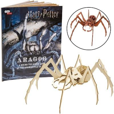 Incredibuilds Harry Potter Aragog Book & Wood Model Figure Kit