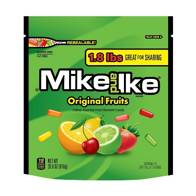 Mike and Ike Original Fruits Stand-Up Bag - 28.8oz