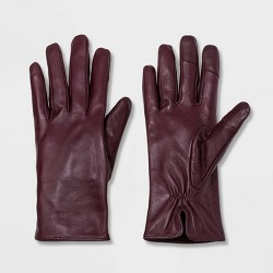 Women's Leather Tech Touch Gloves - A New Day™