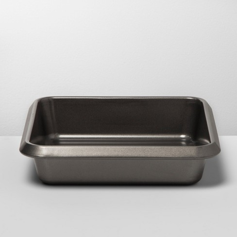 "8"" Non-Stick Square Cake Pan Carbon Steel - Made By Design™ - image 1 of 3"
