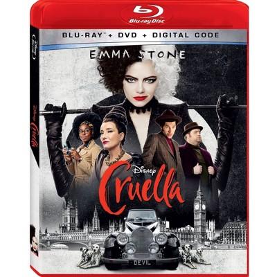 Cruella (Blu-ray + DVD + Digital)