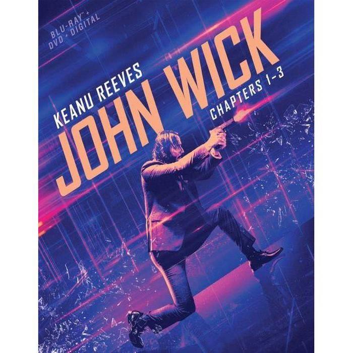 John Wick 1-3 (Blu-ray + DVD + Digital) : Target