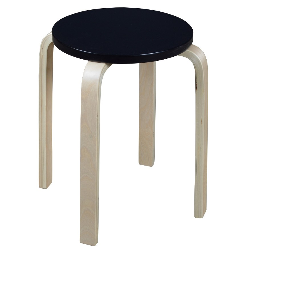 Awe Inspiring Mia Bentwood Stool Natural Black Niche Ncnpc Chair Design For Home Ncnpcorg