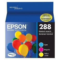 Epson 288 Single, 2pk, 3pk & 4pk Ink Cartridges - Black, Multicolor