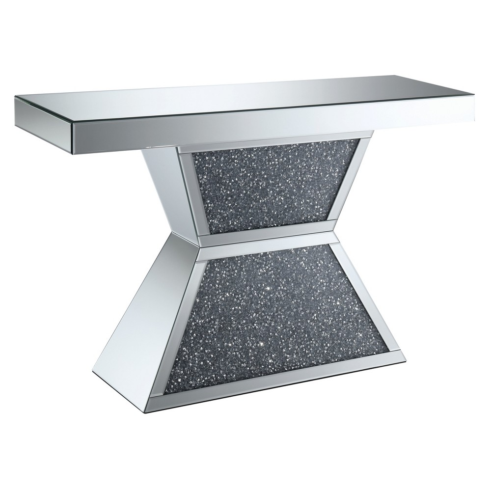 Console Tables Silver Gray - Homes: Inside + Out