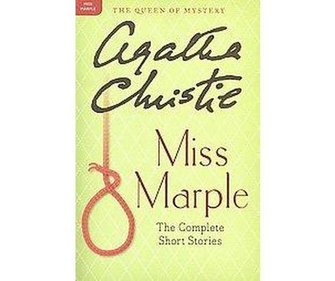 Miss Marple : The Complete Short Stories (Paperback) (Agatha Christie) - image 1 of 1