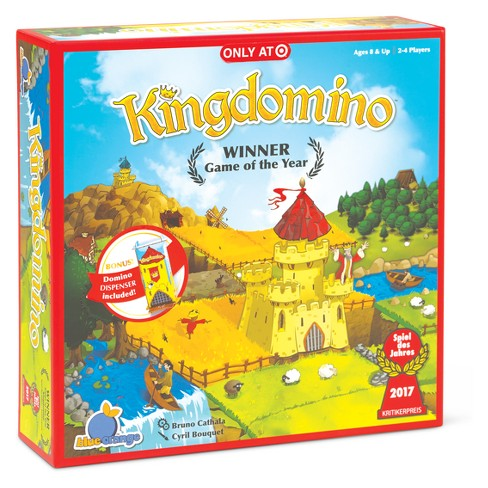 Kingdomino with Special Tower Board Game - image 1 of 2