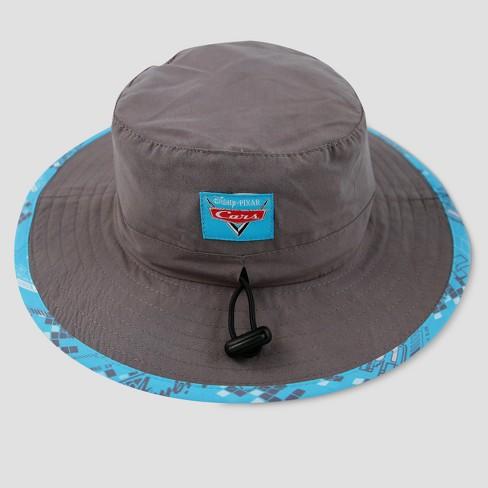 19c096bfb0d8 Toddler Boys  Disney Cars Lightning McQueen Safari Sun Hat - Gray One Size