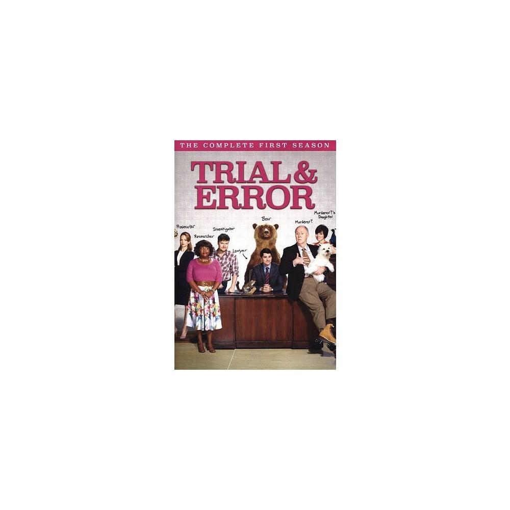 Trial & Error:Complete First Season (Dvd)