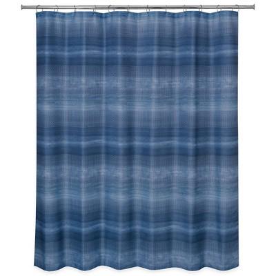 Dash Shower Curtain Blue - Allure Home Creation
