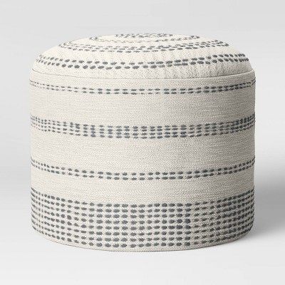 Darien Pouf Textured Neutral? - Project 62™