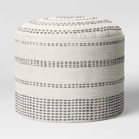 Darien Pouf Textured Neutral?  - Project 62™ - image 1 of 3