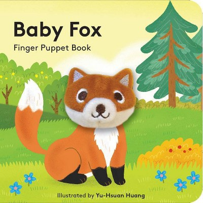 Baby Fox: Finger Puppet Book - (Hardcover)