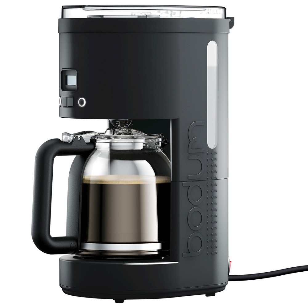 Bodum Bistro 12 Cup Programmable Coffee Maker – Black 52101303