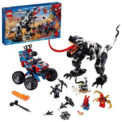 LEGO Marvel Spider-Man Venomosaurus Ambush Fun Building Toy with Awesome Action 76151