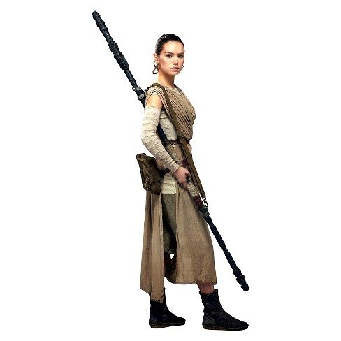 6 ft. Star Wars Rey Cardboard Cutout - image 1 of 1