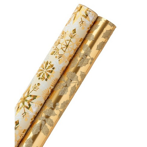 Gold Pattern Wrap Trio - PAPYRUS - image 1 of 4