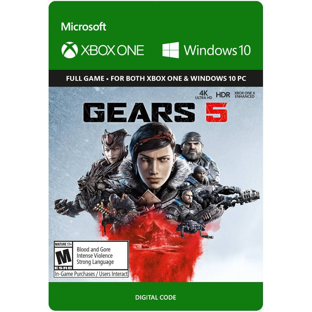 Gears 5 - Xbox One (Digital) was $48.49 now $24.99 (48.0% off)