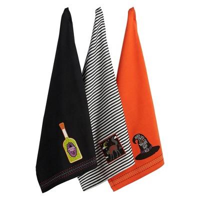3pk Bewitched Embellished Towel - Design Imports