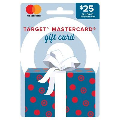 Mastercard® $25 + $4 Fee Gift Card