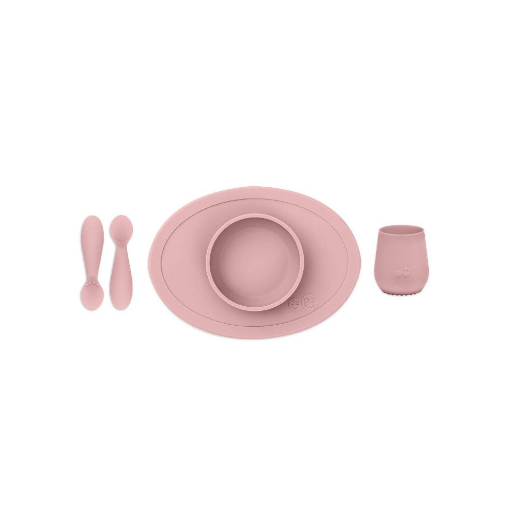 Image of ezpz First Food Set - Blush, Pink