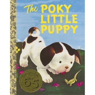 The Poky Little Puppy - (Little Golden Treasures)Abridged by Janette Sebring Lowery (Board Book)