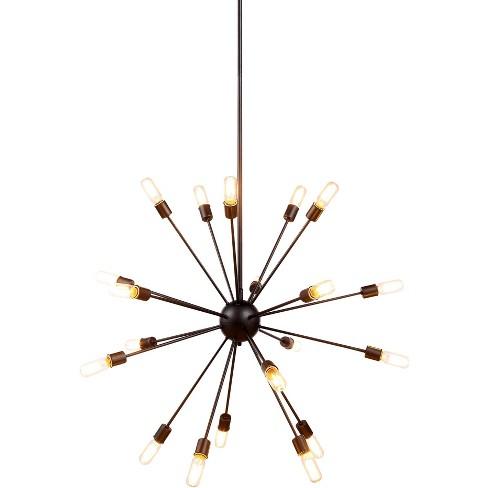 "Elegant Lighting 1134G40 Cork 40.5"" Wide 20 Light Chandelier - image 1 of 1"