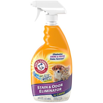 Arm & Hammer plus Oxi Clean Cat Stain & Odor Eliminator for Carpet - 32oz