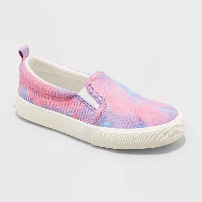Girls' Neva Tie-Dye Slip-On Apparel Sneakers - Cat & Jack™